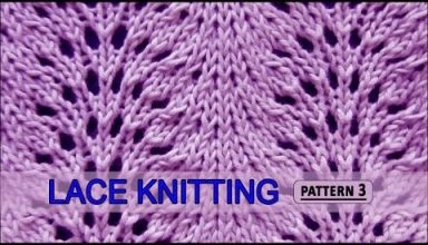 Feather and Fan | Lace Knitting Pattern #3 - image 1552585105_hqdefault-384x220 on https://knitting-crocheting-yarn.com