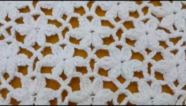 How to Crochet Flowers Stitch / Crochet Patterns # 3 - image 1552672095_hqdefault-384x220 on https://knitting-crocheting-yarn.com