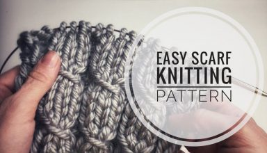 easy scarf knitting patterns - knitting stitches for scarves - knitting pattern for scarf - image 1553454794_maxresdefault-384x220 on https://knitting-crocheting-yarn.com