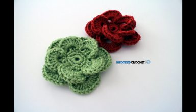 How to Crochet a Flower: Crochet Wagon Wheel Flower Free Crochet Pattern - image 1553714852_maxresdefault-384x220 on https://knitting-crocheting-yarn.com