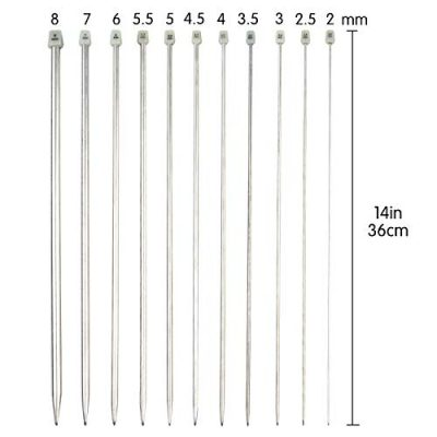 Knitting Needles, 14