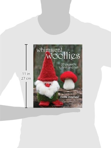 Whimsical Woollies: 20 Projects to Knit and Felt - image 41WbO-VMzAL on https://knitting-crocheting-yarn.com