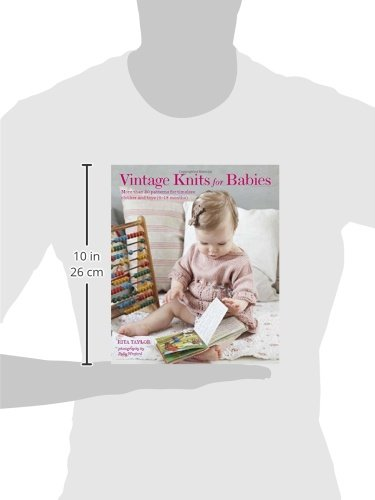 Vintage Knits for Babies: 30 Patterns for Timeless Clothes, Toys and Gifts (0-18 Months) - image 41xuSVaan0L on https://knitting-crocheting-yarn.com