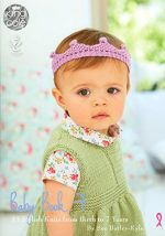 Sirdar Crochet Pattern Book 411 - The Baby Crochet Book - image 51+PFQUofxL-150x214 on https://knitting-crocheting-yarn.com