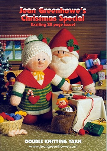 Jean Greenhowe Knitting Pattern Book - Christmas Special - image 511L8sd3afL on https://knitting-crocheting-yarn.com