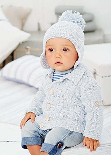 King Cole Baby Book 8 by Sue Batley Kyle 29 Stylish Knits From Birth To 7 Years - image 514gGwwi93L on https://knitting-crocheting-yarn.com