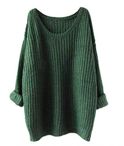 Minetom Womens Ladies Oversized Baggy Long Thick Knitted Long Sleeve Top Sweater Jumper - image 515xHaPcNRL-400x468 on https://knitting-crocheting-yarn.com
