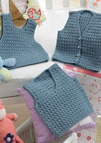 KING COLE BABY CROCHET BOOK 1 - image 51FO6MRqVIL on https://knitting-crocheting-yarn.com
