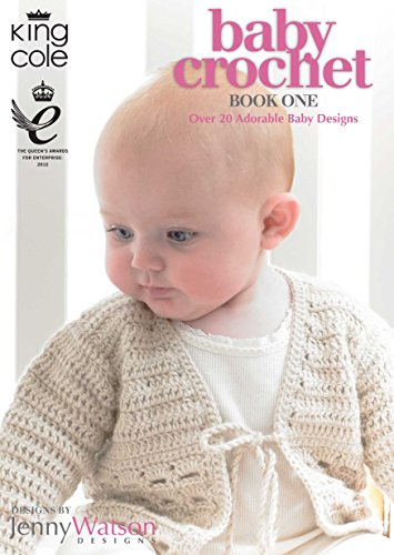 KING COLE BABY CROCHET BOOK 1 - image 51HMYxyYUXL on https://knitting-crocheting-yarn.com