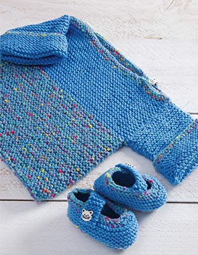 One-Stitch Baby Knits: 25 Easy Patterns for Adorable Garments and Accessories Using Garter Stitch - image 51KV0Qk3-nL on https://knitting-crocheting-yarn.com