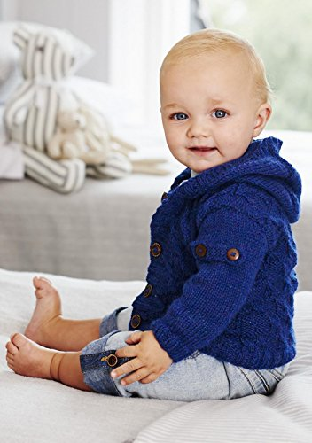 King Cole Baby Book 8 by Sue Batley Kyle 29 Stylish Knits From Birth To 7 Years - image 51Pe9VnejbL on https://knitting-crocheting-yarn.com