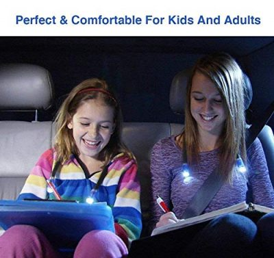 Topnma LED Hug Light,Rechargeable 4 LED Neck Book Light, Flexible Neck Lamp for Reading in Bed or Car with Adjustable Brightness, Ideal for Kids,Crafts,Knitting,Travel or BBQ - image 51Q8fv4MkNL-400x377 on https://knitting-crocheting-yarn.com