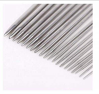 Metal Knitting Needles Long Knitting Needles Metal Knitting Needles Set in case Knitting Needles Set 2.0mm 2.5mm 3.0mm 3.5mm 4.0mm 4.5mm 5.0mm 5.5mm 6.0mm 7.0mm 8.0mm 11 Pairs (22 Pcs) - image 51XhRJr4eyL-400x381 on https://knitting-crocheting-yarn.com