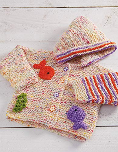 One-Stitch Baby Knits: 25 Easy Patterns for Adorable Garments and Accessories Using Garter Stitch - image 51kRUmW6SmL on https://knitting-crocheting-yarn.com