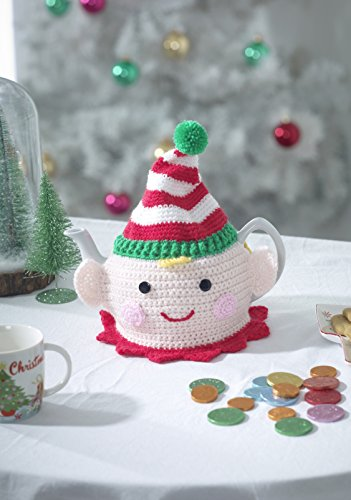 King Cole Christmas Crochet Book 4 by Zoe Halstead - image 51kq1J8GPJL on https://knitting-crocheting-yarn.com