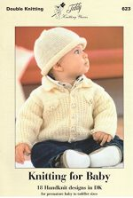 King Cole Knitting Pattern Baby Book 4 - image 51lqFKP543L-150x223 on https://knitting-crocheting-yarn.com