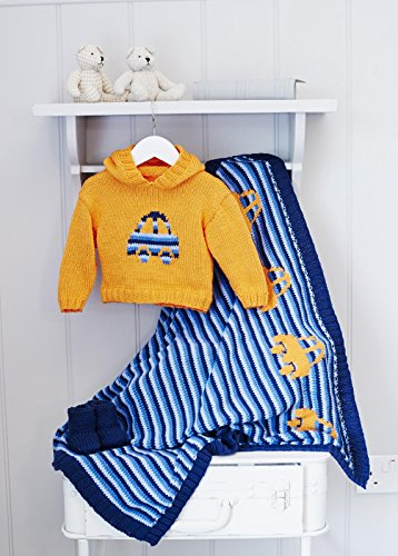 King Cole Baby Book 8 by Sue Batley Kyle 29 Stylish Knits From Birth To 7 Years - image 51qQnuQ5LOL on https://knitting-crocheting-yarn.com