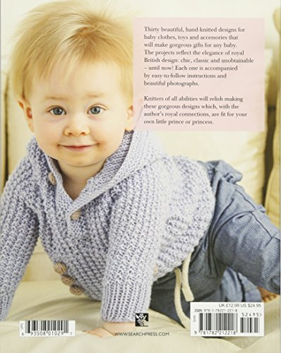 Very British Baby Knits: 30 Stylish Designs Fit for a Royal Baby - image 51rpsz9celL on https://knitting-crocheting-yarn.com