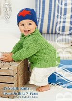 One-Stitch Baby Knits: 25 Easy Patterns for Adorable Garments and Accessories Using Garter Stitch - image 51xE5Ru6UdL-150x209 on https://knitting-crocheting-yarn.com