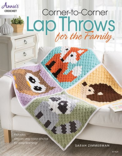 Corner-To-Corner Lap Throws for the Family (Annies Crochet) - image 615NBqxO9PL on https://knitting-crocheting-yarn.com
