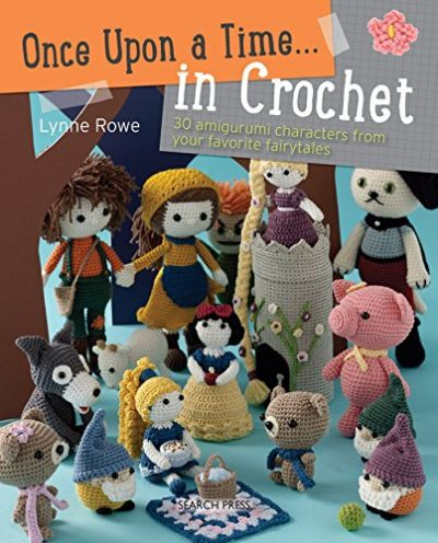 Once Upon a Time... in Crochet (US): 30 Amigurumi Characters from Your Favourite Fairytales - image 61kPIcCKREL-400x496 on https://knitting-crocheting-yarn.com