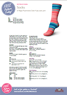 Regia Socks - pattern image