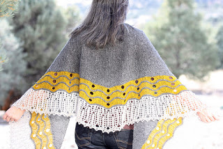 MY BLOG HAS MOVED HOME! - image Happenstance+Shawl on https://knitting-crocheting-yarn.com