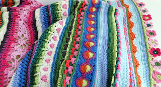knit & crochet design: Sunshine and Showers - image S&S Yarn Stories 2 on https://knitting-crocheting-yarn.com