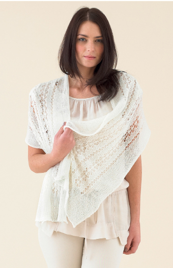The Sublime Jasmine Lace Wrap