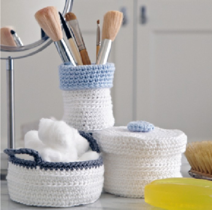Free-crochet-pattern-ideas-bathroom pots