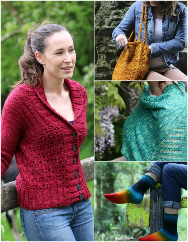 Short Row Knits by Carol Feller: read the book review on LoveKnitting!