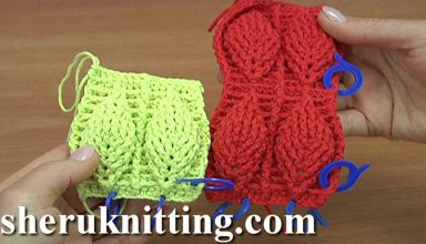 Crochet Leaf Stitch Pattern Tutorial 5 - image 1554237300_maxresdefault-384x220 on https://knitting-crocheting-yarn.com