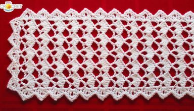 Festive Table Runner Crochet Pattern- Looks Fancy, Easy Pattern! - image 1554758527_maxresdefault-384x220 on https://knitting-crocheting-yarn.com