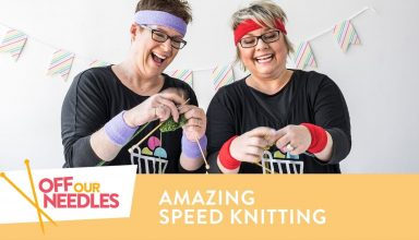 How to Knit Faster + SPEED KNITTING Challenge! | Off Our Needles S4E9 - image 1555531653_maxresdefault-384x220 on https://knitting-crocheting-yarn.com