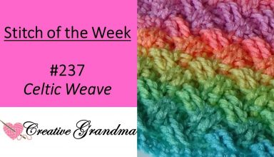 Stitch of the Week # 80 Diamond Link Stitch - Crochet Tutorial - image 1555886680_maxresdefault-384x220 on https://knitting-crocheting-yarn.com