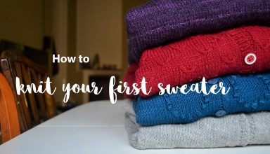 How to block a sweater - Knitting tips - image 1556224050_maxresdefault-384x220 on https://knitting-crocheting-yarn.com