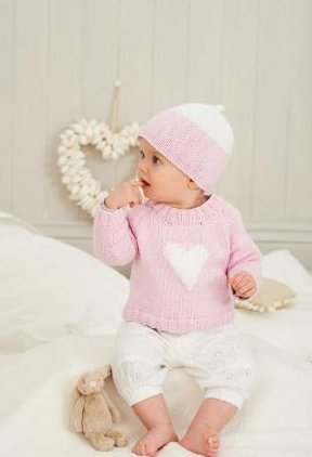 King Cole Knitting Pattern Baby Book 6 : 29 Stylish Knits From Birth To 7 Years - image 31giuoWrIpL on https://knitting-crocheting-yarn.com