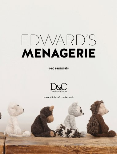 Edward's Menagerie: Over 40 soft and snuggly toy animal crochet patterns - image 418pqRXrLgL on https://knitting-crocheting-yarn.com