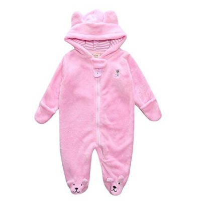 Baby Bear Style Bag Zipper Suitcase Jersey Autumn Winter Newborn Infant Boy Girl Hoodie Jumpsuit Romper Clothes Gray - image 41M02yl-fRL-400x400 on https://knitting-crocheting-yarn.com