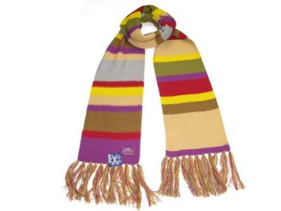 Doctor Who Scarf - Official BBC Doctor Who Scarf - Fourth Doctor Scarf Full Size by Lovarzi - image 41THEM4thLL-400x300 on https://knitting-crocheting-yarn.com