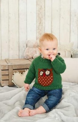 King Cole Knitting Pattern Baby Book 6 : 29 Stylish Knits From Birth To 7 Years - image 41q89ljNzXL on https://knitting-crocheting-yarn.com