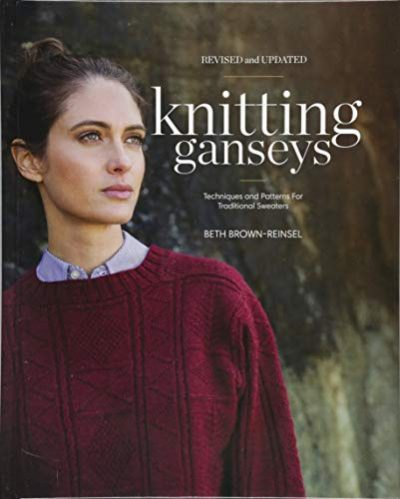 Knitting Ganseys, Revised and Updated: Techniques and Patterns for Traditional Sweaters - image 41qs-wY544L-400x499 on https://knitting-crocheting-yarn.com