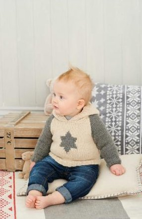 King Cole Knitting Pattern Baby Book 6 : 29 Stylish Knits From Birth To 7 Years - image 41u+LO174KL on https://knitting-crocheting-yarn.com