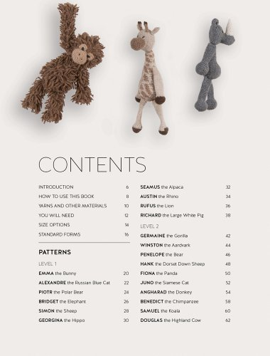 Edward's Menagerie: Over 40 soft and snuggly toy animal crochet patterns - image 41wjSRiHoiL on https://knitting-crocheting-yarn.com