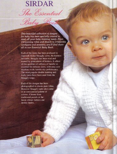 Sirdar The Essential Baby and Children's Knitting Pattern Book: 19 items from Birth to age 6 years (Blankets, Cardigans, Hats, Bonnet, Jackets, Dress, Shawl, Sweaters, Sleeping Bag, Matinee Coat, All In One) - image 51Am1IpbcXL on https://knitting-crocheting-yarn.com