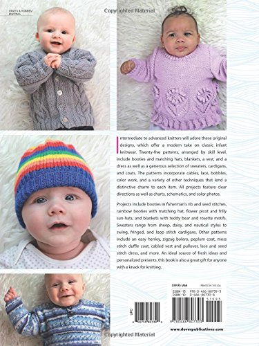 Adorable Baby Knits: 25 Patterns for Boys and Girls (Dover Books on Knitting and Crochet) - image 51FK-ojqxSL on https://knitting-crocheting-yarn.com
