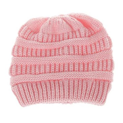 Girls Hats, SHOBDW Baby Fashion Knitted Wool Hemming Solid Warm Winter Autumn Hats Children Gifts Cap - image 51FVKAjoj-L-400x400 on https://knitting-crocheting-yarn.com
