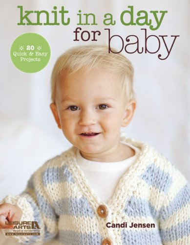 Knit in a Day for Baby - image 51J1FOQc90L on https://knitting-crocheting-yarn.com