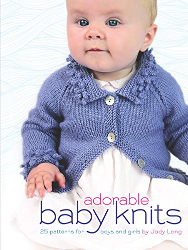 Adorable Baby Knits: 25 Patterns for Boys and Girls (Dover Books on Knitting and Crochet) - image 51RadrwFzDL on https://knitting-crocheting-yarn.com