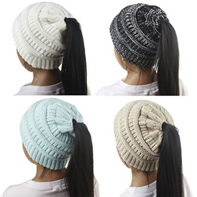 Girls Hats, SHOBDW Baby Fashion Knitted Wool Hemming Solid Warm Winter Autumn Hats Children Gifts Cap - image 51V6659L+cL-400x400 on https://knitting-crocheting-yarn.com